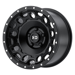 XD Series Wheels XD129 Holeshot - Satin Black Rim