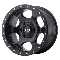 XD Series Wheels XD131 RG1 - Satin Black w/Reinforcing Ring Rim