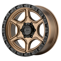 XD Series Wheels XD139 Portal - Satin Bronze With Satin Black Lip Rim