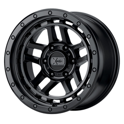 XD Series Wheels XD140 Recon - Satin Black Rim