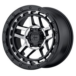 XD Series Wheels XD140 Recon - Satin Black Machined