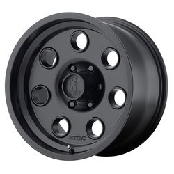 XD Series Wheels XD300 Pulley - Satin Black Rim