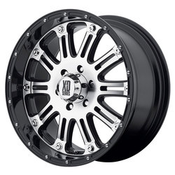 XD Series Wheels XD795 Hoss - Gloss Black Machined Face