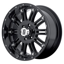 XD Series Wheels XD795 Hoss - Gloss Black w/Clearcoat Rim