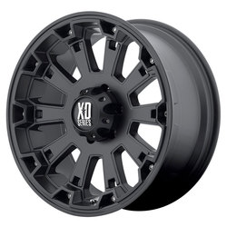 XD Series Wheels XD800 Misfit - Matte Black Rim