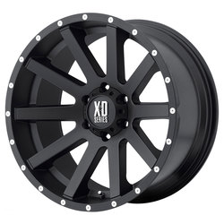 XD Series Wheels XD818 Heist - Satin Black - 18x8