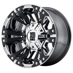 XD Series Wheels XD822 Monster II - PVD Rim