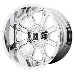 XD Series Wheels XD825 Buck 25 - Chrome Rim