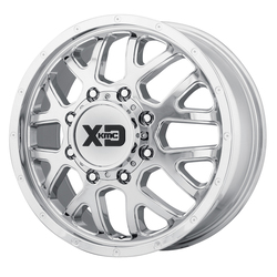 XD Series Wheels XD843 Grenade Front-Chrome