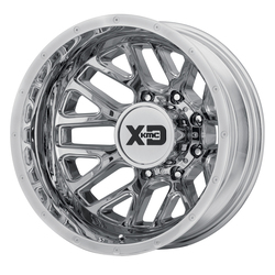 XD Series Wheels XD843 Grenade Dually Rear - Chrome Rim