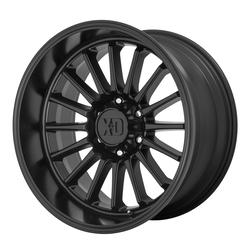 XD Series Wheels XD857 Whiplash - Satin Black Rim