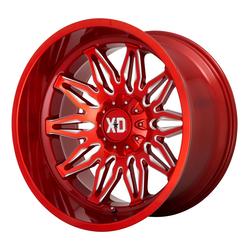 XD Series Wheels XD859 Gunner - Red Milled Rim