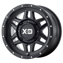 XD ATV Wheels XS128 Machete - Satin Black - 14x7