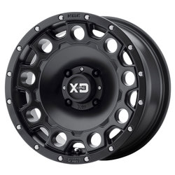 XD ATV Wheels XS129 Holeshot - Satin Black Rim - 14x7