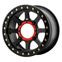 XD ATV Wheels XS234 Addict 2 Beadlock - Satin Black