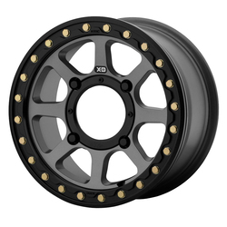 XD ATV Wheels XS234 Addict 2 Beadlock - Satin Grey Rim