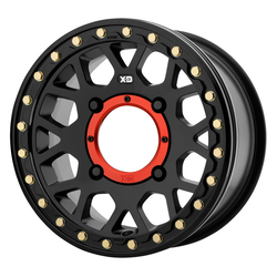XD ATV Wheels XS235 Grenade Beadlock - Satin Black Rim