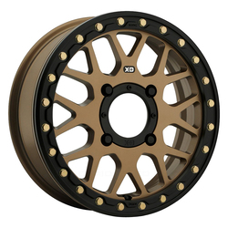 XD ATV Wheels XS235 Grenade Beadlock - Satin Bronze