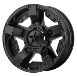 XD ATV Wheels XS811 Rockstar II - Satin Black - 14x7