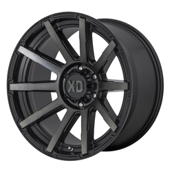 XD Series Wheels XD847 Outbreak - Satin Black / Gray Tint Rim