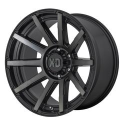 XD Series Wheels XD Series Wheels XD847 Outbreak - Satin Black / Gray Tint
