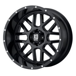 XD Series Wheels XD820 Grenade - Gloss Black Rim