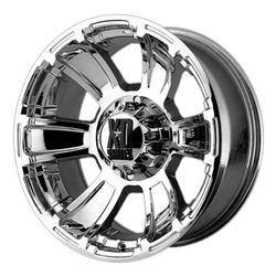 XD Series Wheels XD796 Revolver - Chrome Rim