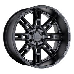 Level 8 Wheels Slingshot - Matte Black Rim