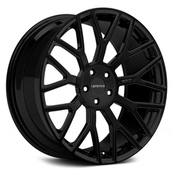 Lorenzo Wheels LF897 - Custom Finishes Up To Three Colors Rim - 22x11