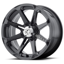 MSA Offroad Wheels M12 Diesel - Gloss Black - 22x7