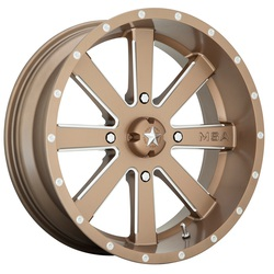 MSA Offroad Wheels M34 Flash - Bronze Milled Rim - 18x7