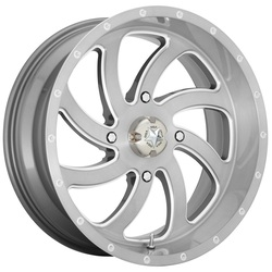 MSA Offroad Wheels M36 Switch - Brushed Titanium Rim - 18x7
