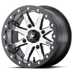 MSA Offroad Wheels MSA Offroad Wheels M21 Lok - Charcoal Tint - 14x7