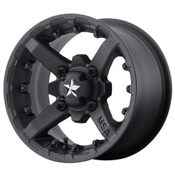 MSA Offroad Wheels M23 Battle - Matte Black Rim - 14x7