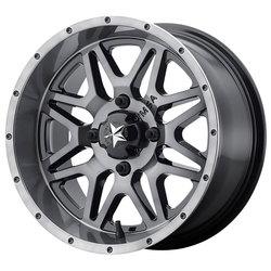 MSA Offroad Wheels MSA Offroad Wheels M26 Vibe - Dark Tint - 14x7