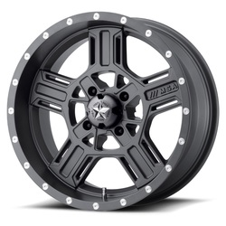 MSA Offroad Wheels M32 Axe - Matte Gray - 14x7