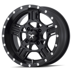 MSA Offroad Wheels M32 Axe - Satin Black - 14x7