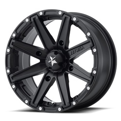 MSA Offroad Wheels MSA Offroad Wheels M33 Clutch - Satin Black - 14x7