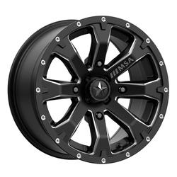 MSA Offroad Wheels M42 Bounty - Satin Black Milled Rim - 18x7