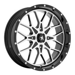 MSA Offroad Wheels M45 Portal - Gloss Black Machined Rim - 18x7
