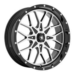 MSA Offroad Wheels MA45 - Gloss Black Machined Rim - 18x7