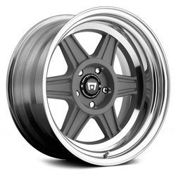 Motegi Wheels MR224 - Mag Gray Polished Barrel Rim