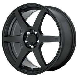 Motegi Wheels MR143 CS6 - Satin Black Rim - 15x6.5
