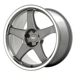 Motegi Wheels MR151 CS5 - Gunmetal with Machined Lip Rim