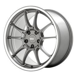Motegi Wheels MR152 SS5 - Gunmetal with Machined Lip Rim