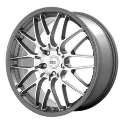 Motegi Wheels MR153 CM10 - Machined Gunmetal Rim