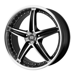 Motegi Wheels MR107 - Gloss Black Machined