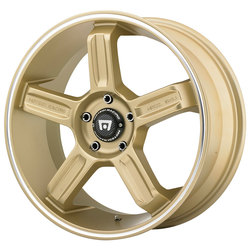 Motegi Wheels MR122 - Gold w/Machined Stripe Rim