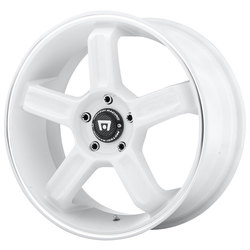 Motegi MR122 - White w/Machined Stripe
