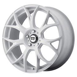Motegi Wheels MR126 - Matte White w/Milled Accents Rim - 20x8.5